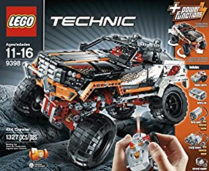 Lego Technic - 9398 - Jeu de Construction - Le 4 x 4 Crawler
