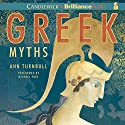 Greek Myths Audiobook by Ann Turnbull Narrated by Michael Page