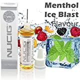 Ice BLAST Menthol Sensation Flavour Large 20ml Eliquid â Exclusive Integrated Dispensing Point â VG Premium Base for ecigarette electric cigarette electronic cigarette clearomiser clearomizer eshisha ehookah e cigarette (Ice Blast - M