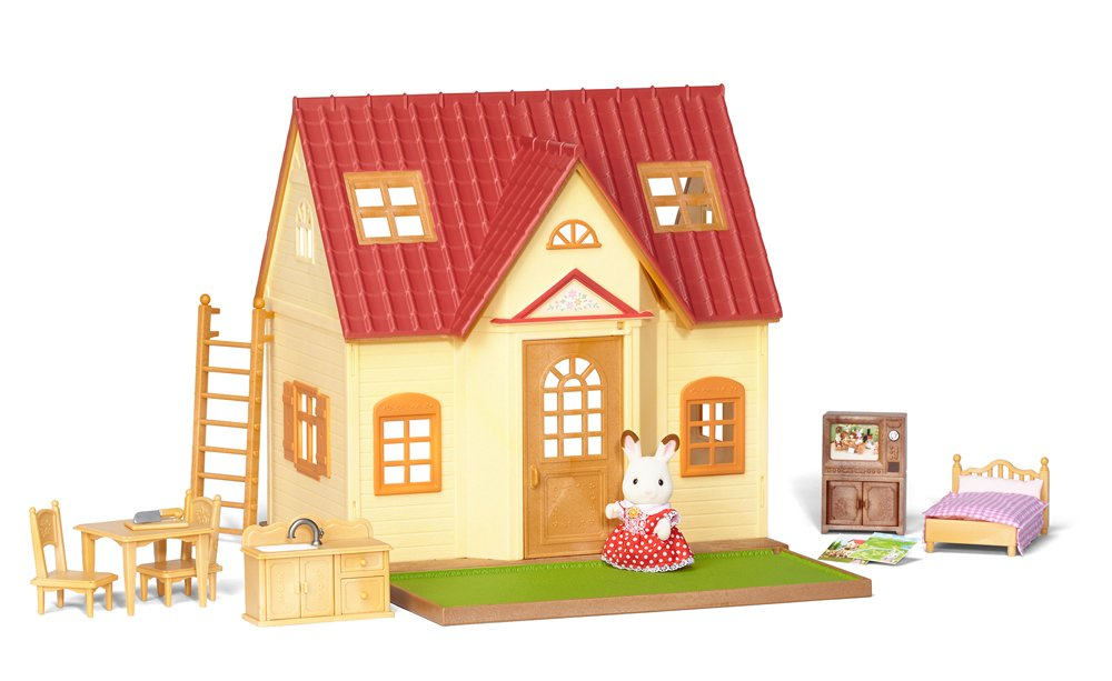 Amazon.com: Calico Critter Cozy Cottage Starter Home: Toys & Games