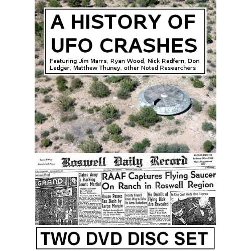 A History Of UFO Crashes Bill Knell Movies & TV
