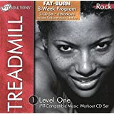 TREADMILL--ROCK/LEVEL-ONE IFIT COMPATIBLE MUSIC WORKOUT CD SET