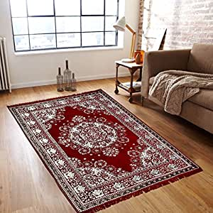 Buy Reliable Trends Velvet Touch Chenille Carpet For Living Room Dining Hall Floor Online At Low