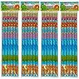 12 Dinosaur full length pencils.Eraser top.party bag fillers,teachers rewards