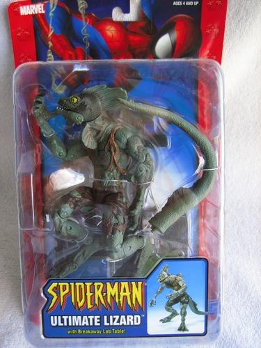 Ultimate spider man lizard figure