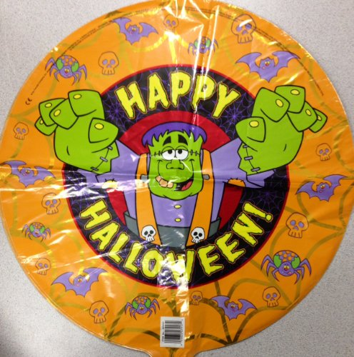 Happy Halloween 18 inch Mylar Balloon - 1