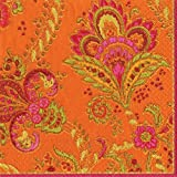 Entertaining with Caspari Java Spice Paper Luncheon Napkins Pack of 20