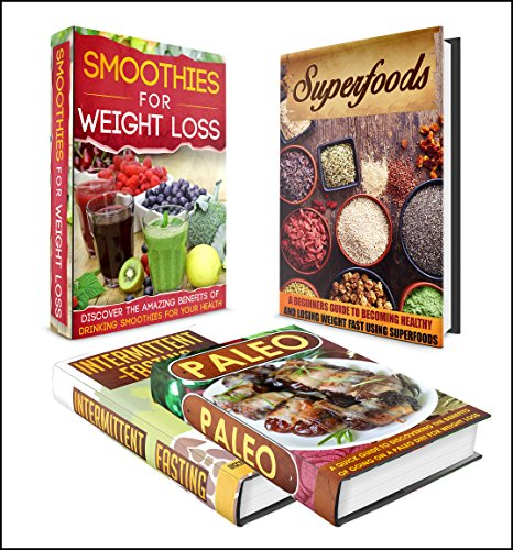 Intermittent Fasting: BOX SET 4 IN 1  The Complete Extensive Guide On Intermittent Fasting + Paleo + Smoothies #11 (Clean Eating, Intermittent Fasting, Smoothies, Superfoods, Spice Mixes, Paleo) by M. Clarkshire