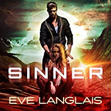 Sinner: Space Gypsy Chronicles, Book 2 Audiobook by Eve Langlais Narrated by Chandra Skyye