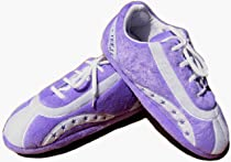 Fuzzy Slipper Gift Shop - Purple Sneak Freak Slippers for Women :  women freak sneak purple