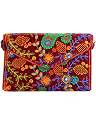 Rajasthani Prints Women's Clutch (Multicolor, RMH003)