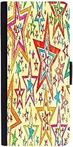 Snoogg Star Studdeddesigner Protective Flip Case Cover For Samsung Galaxy Note 2