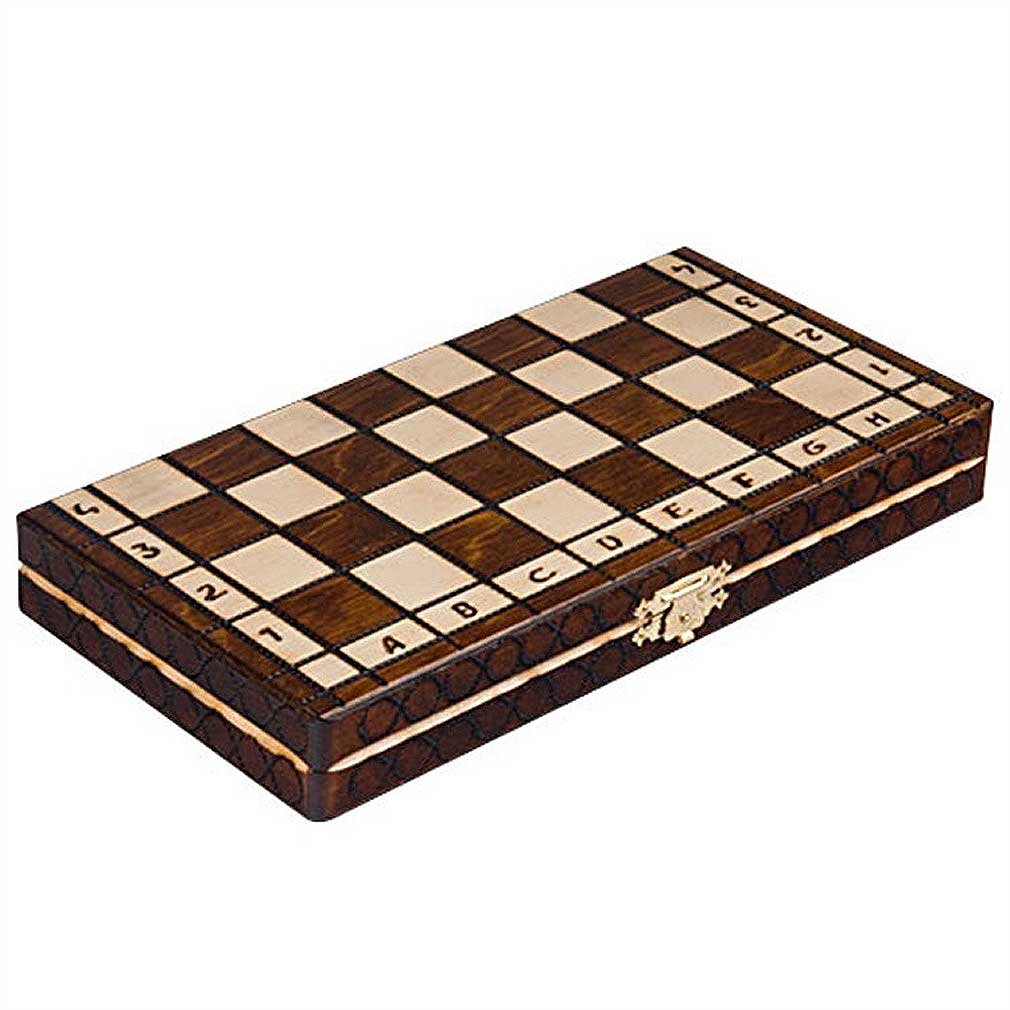 Chess Royal 30 European Wooden Handmade International Set, 11.81 x 1.97-Inch 4