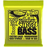 Ernie Ball 2832 Regular Slinky Nickel Wound Bass Set, .050 - .105