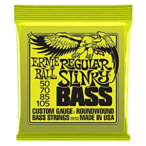 【国内正規輸入品】ERNIE BALL エレキベース弦 2832 Regular Slinky Bass レギュラースリンキー