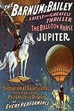GIRL WHITE HORSE BALLOON JUPITER THRILLER SHOW CIRCUS VINTAGE POSTER REPRO