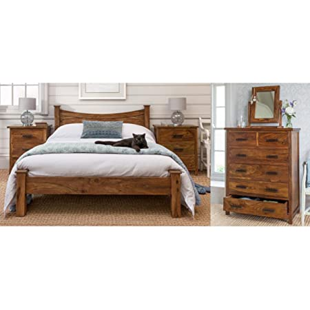 Mallani Dream Set - Curved Double Bed Set