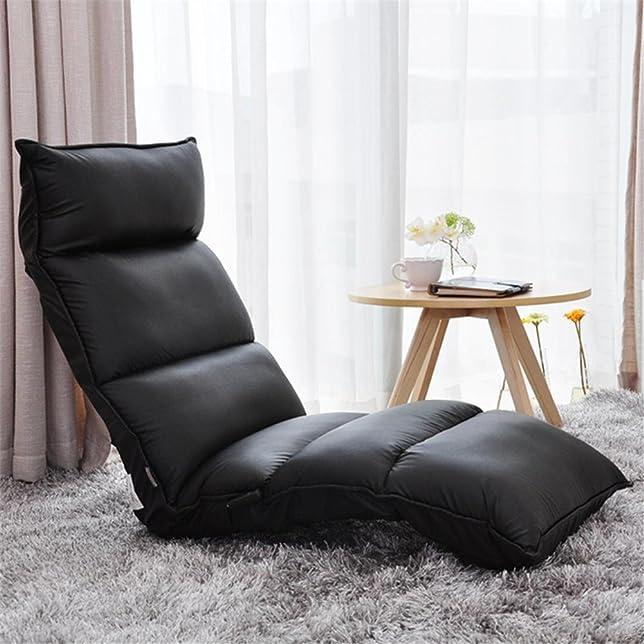 Divano sdraiato Tatami Lounge sedia relax divano singolo divano pigro marrone , black