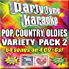 Party Tyme Karaoke: Pop Country Oldies Variety Pack 2