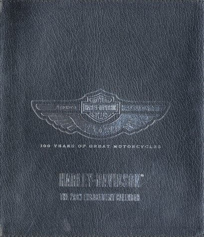 Harley-Davidson 100 Years of Great Motorcycles 2003 Engagement Calendar