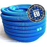 Tuyau pour piscine, divisible tous les 110 cm Bleu Ø 32 mm, longueur 50 m