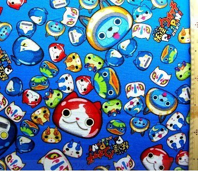 [Character cloth Yokai watch Punipuni # 18 Blue 90cm] (Costume Conventions California)