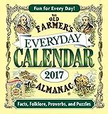 img - for The Old Farmer's Almanac 2017 Everyday Calendar book / textbook / text book