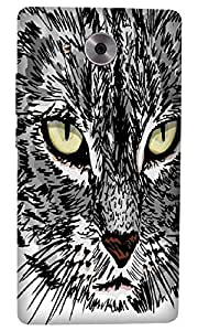 Timpax Protective Hard Back Case Cover With access to all controls and ports Printed Design : Tom the cat.Specifically Design For : Huawei Ascend Mate-8
