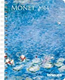 img - for 2014 Claude Monet Deluxe Engagement Calendar book / textbook / text book