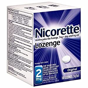 NICORETTE COMMIT ORIGINAL FLAVOR 2MG 108 LOZENGES