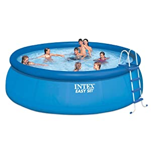 This product is one of the best above ground pools available on the market.  This has the capacity of 5,455 gallons and is made of high-quality  laminated PVC ...