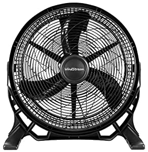 NEW WindStream 20 inch, High Velocity Floor Fan / Air Circulator Fan