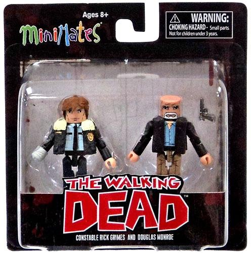 The Walking Dead Minimates Series 6 Minifigure 2-Pack <b>Constable Rick Grimes & Douglas Monroe</b>