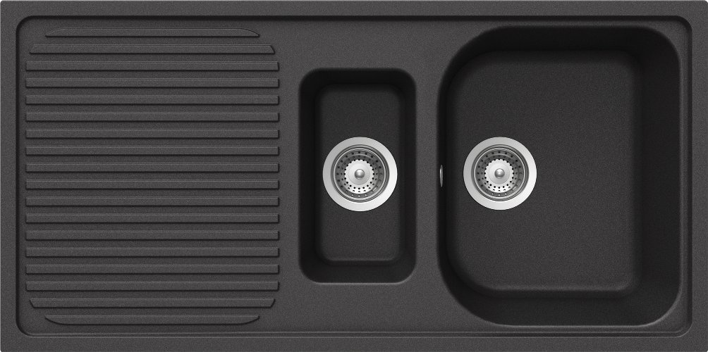 Schock LITD150AGON Lithos D150 Einbauspüle, onyx  BaumarktKundenbewertung: