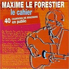 Maxime Le Forestier 1998   Le Cahier preview 0