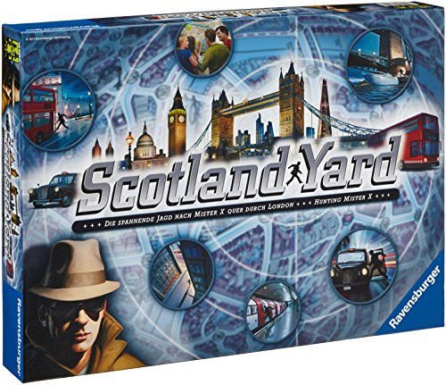 "Ravensburger 26601 - Gioco di strategia ""Scotland Yard '13"" [lingua tedesca]"