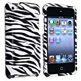 Snap-On Protector Hard Case for iPod Touch 4th Generation / 4th Gen - Zebra Print