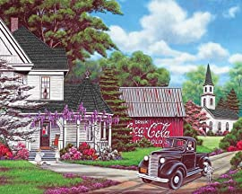 Springbok Coca-Cola Country Jigsaw Puzzle, 1000-Piece