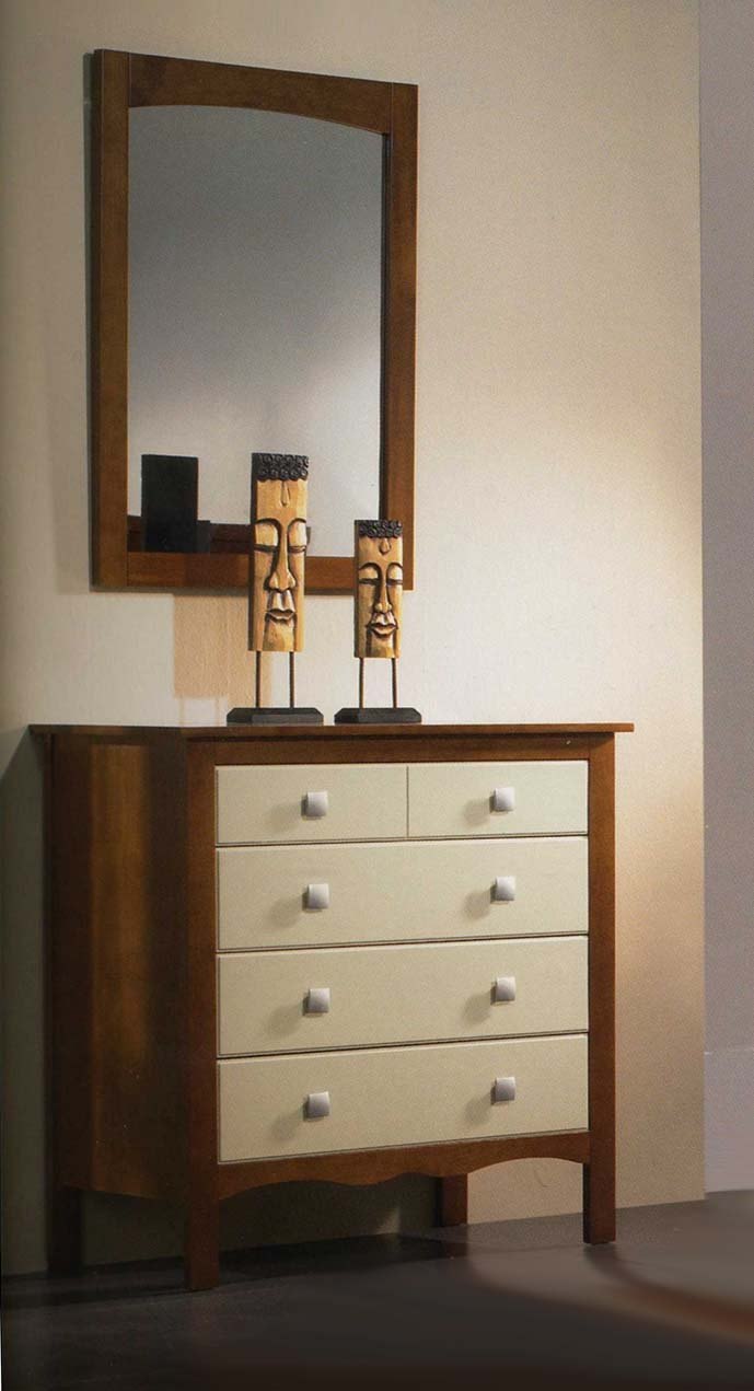Formschöne Kommode aus Holz : Modell MONACO RYS