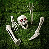 Halloween-Battery-Operated-Buried-Skeleton-Bones-with-Light-Up-LED-Eyes