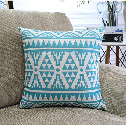 UNUSRFN colore scandinavo di cotone geometrica - e - divano in lino