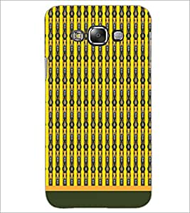 PrintDhaba Pattern D-1705 Back Case Cover for SAMSUNG GALAXY E7 (Multi-Coloured)