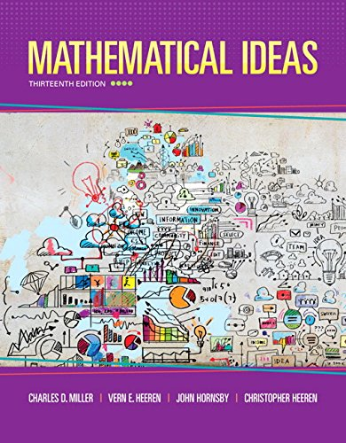 Mathematical Ideas (13th Edition)