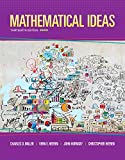 img - for Mathematical Ideas (13th Edition) book / textbook / text book