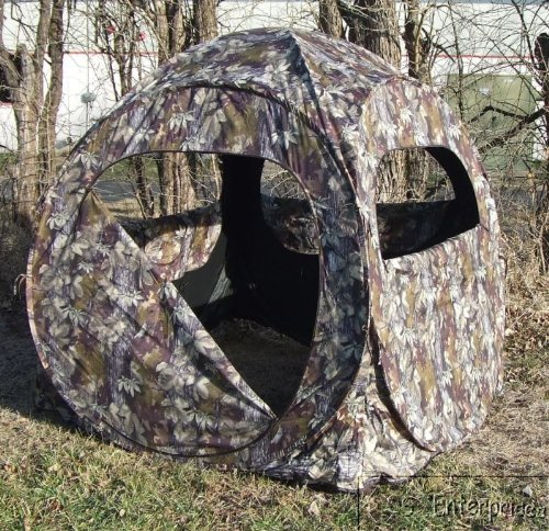 Deer Turkey instant pop up hunting ground blind NEW 80539
