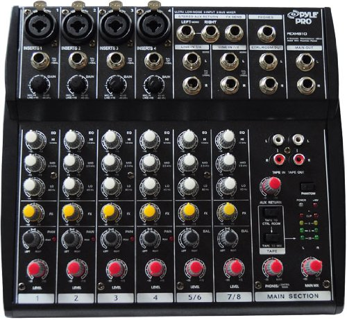 Pyle-Pro PEXM810 8 Channel Professional Audio