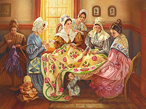 Ladies Quilting Day a Jigsaw Puzzle