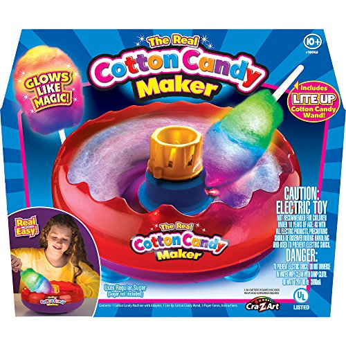 Cra-Z-Art Cotton Candy Maker for Boys and Girls 10 Years and Up (Recipes Cra compare prices)