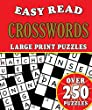 Puzzles - Easy Read Crosswords: Over 250 Large Print Puzzles