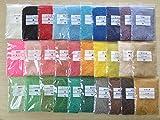 《日本製》30色カラーサンドセット【トータル1500g 各50g】